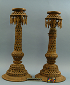 view Buddhist Temple-Lamps Of Bronze Filigree digital asset number 1