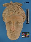 view Etruscan Aphrodite Head, Terracotta digital asset number 1