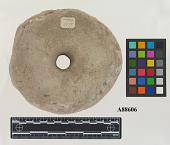 view Large perforated ceamic disk digital asset number 1