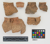 view small jar, fragments, Barton incised and Parkin punctate digital asset number 1