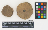 view Pottery Discs, One Perforated. (2) digital asset number 1