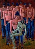 view Christ Held by Half-Naked Men digital asset number 1