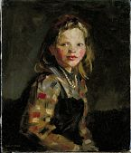 view Portrait of a Girl, Checkered Blouse digital asset number 1