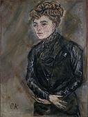 view Portrait of Mrs. Karpeles (Frau K.) digital asset number 1