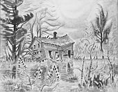 view Old House by a Swamp digital asset number 1
