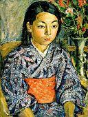 view Girl in Kimono digital asset number 1