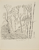 view (Untitled - Landscape with Trees) digital asset number 1
