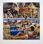 view Coronation and Beach Scene digital asset number 1