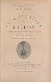 view Cinq semaines en ballon : voyage de découvertes en Afrique par trois Anglais / Jules Verne ; illustrations par MM. Riou et de Montaut digital asset number 1