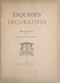 view Esquisses décoratives / par René Binet, architecte ; preface de Gustave Geffroy digital asset number 1