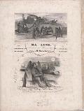 view Ma lune parodie de Ma Normandie par Frédéric de Courcy et Charles Plantade digital asset number 1