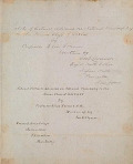 view Notes of lectures delivered on natural philosophy, to the senior class of 1848 & '49 [manuscript], 1848-1849 / by Professor Elias Loomis ; written by Geo. E. Clymer digital asset number 1