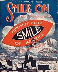 view Smile on the optimist's song lyrics by Eden P. Greville ; music by Alfred Solman digital asset number 1
