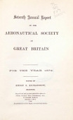 view Annual report of the Aeronautical Society of Great Britain digital asset number 1