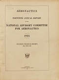 view Annual report - National Advisory Committee for Aeronautics digital asset number 1