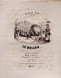 view Le ballon grande parade aeroporiste avec descente en parachute paroles de Mr. E.V. ; musique de G. Kastner digital asset number 1