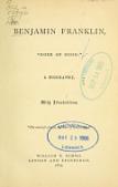 """view Benjamin Franklin, """"doer of good"""" a biography digital asset number 1"""