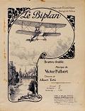 view Le biplan Boston double musique de Victor Fulbert ; théorie de Albert Tété digital asset number 1