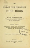 view The Boston cooking-school cook book, by Fannie Merritt Farmer digital asset number 1