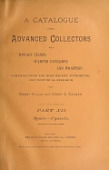 view A catalogue for advanced collectors of postage stamps, stamped envelopes and wrappers; compiled from the most recent authorities and individual research, by Henry Collin and Henry L. Calman .. digital asset number 1