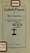 view Catholic prayers and a short Catechism in the Nootkan language, as spoken at Hesquiat, West Coast, V.J. / by A.J. Brabant digital asset number 1