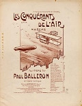 view Les conquérants de l'air marche pour piano : op. 14 par Paul Balleron digital asset number 1
