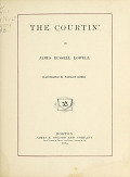view The courtin', by James Russell Lowell; illustrated by Winslow Homer digital asset number 1