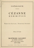 view Cézanne exhibition : through January, nineteen sixteen digital asset number 1