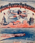 view Flying fighters for freedom lyric and music by Marion L. Ward digital asset number 1
