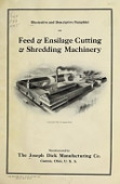 view Illustrative and descriptive pamphlet on feed and ensilage cutting and shredding machinery digital asset number 1