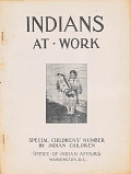 view Indians at work : special children's number / by Indian children digital asset number 1