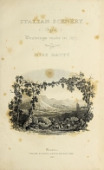 view Italian scenery from drawings made in 1817 / by Elizabeth Frances Batty digital asset number 1