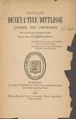 view Katolik deneya ʻtiye dittlisse. Livre de prières en langue montagnaise par le Rév. père Legoff .. digital asset number 1