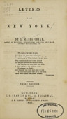 view Letters from New York / by L. Maria Child digital asset number 1