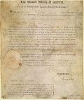 view Letters patent, 1796 Dec. 23; Philadelphia, for Thomas Passmore digital asset number 1