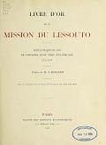 view Livre d'or de la mission du Lessouto Soixante-quinze ans de l'histoire d'une tribu Sud-Africaine, 1833-1908 Préface de A. Boegner digital asset number 1