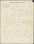 view Marie Curie letter dated Faculté des sciences de Paris, Institut du radium, Laboratoire Curie, 1, Rue Pierre-Curie, Paris, 24 August 1917 digital asset number 1
