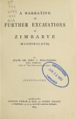 view A narrative of further excavations at Zimbabye (Mashonaland). By Major Sir John C. Willoughby ... Illustrated digital asset number 1