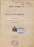 view New York at the Lewis and Clark exposition. Portland, Oregon, June 1 to October 15, 1905 digital asset number 1