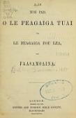 view O le tusi paia o le Feagaiga Tuai ma le Feagaiga Fou lea, ua faasamoaina digital asset number 1