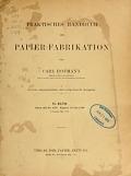 view Praktisches Handbuch der Papier-Fabrikation / von Carl Hofmann digital asset number 1