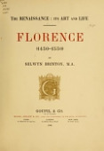 view The renaissance: its art and life; Florence (1450-1550) by Selwyn Brinton, M.A digital asset number 1