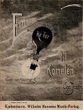 view En ré-tur til kometen kvadrille over melodier af sommerrevyerne 1886 ved Chr. Jensen digital asset number 1