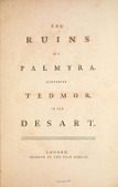 view The ruins of Palmyra, otherwise Tedmor, in the desart digital asset number 1