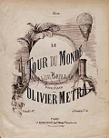 view Le tour du monde valse brillant pour piano par Olivier Metra digital asset number 1