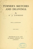 view Turner's sketches and drawings, by A.J. Finberg digital asset number 1