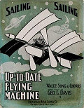 view Up-to-date flying machine waltz song & chorus words & music by Geo. C. Davis ; [arr. by Wm. J. Carle] digital asset number 1
