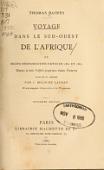 view Voyage dans le Sud-ouest de l'Afrique; ou, Récits d'explorations faites en 1861 et 1862 depuis la baie Valsich jusqu'aux chutes Victoria / Thomas Baines ; traduits et abrégés par J. Belin-de Launay digital asset number 1