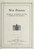 view War pictures, issued by authority of the Imperial War Museum digital asset number 1