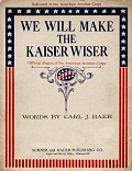 view We will make the Kaiser wiser words by Carl J. Baer digital asset number 1